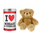 Personalised Teddy bears in a Tin